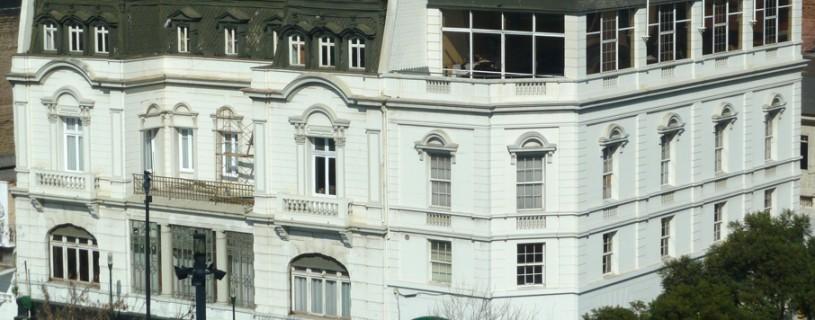 Edificio del Club Alemán de Valparaíso, Agosto 2012