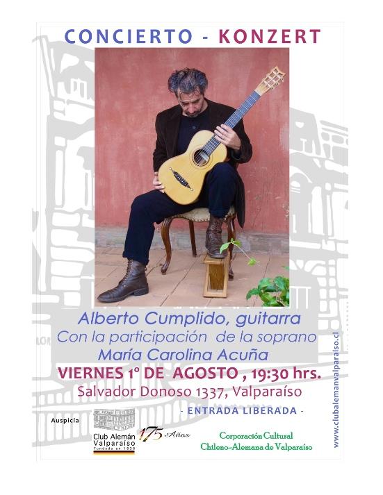 Afiche Alberto Cumplido