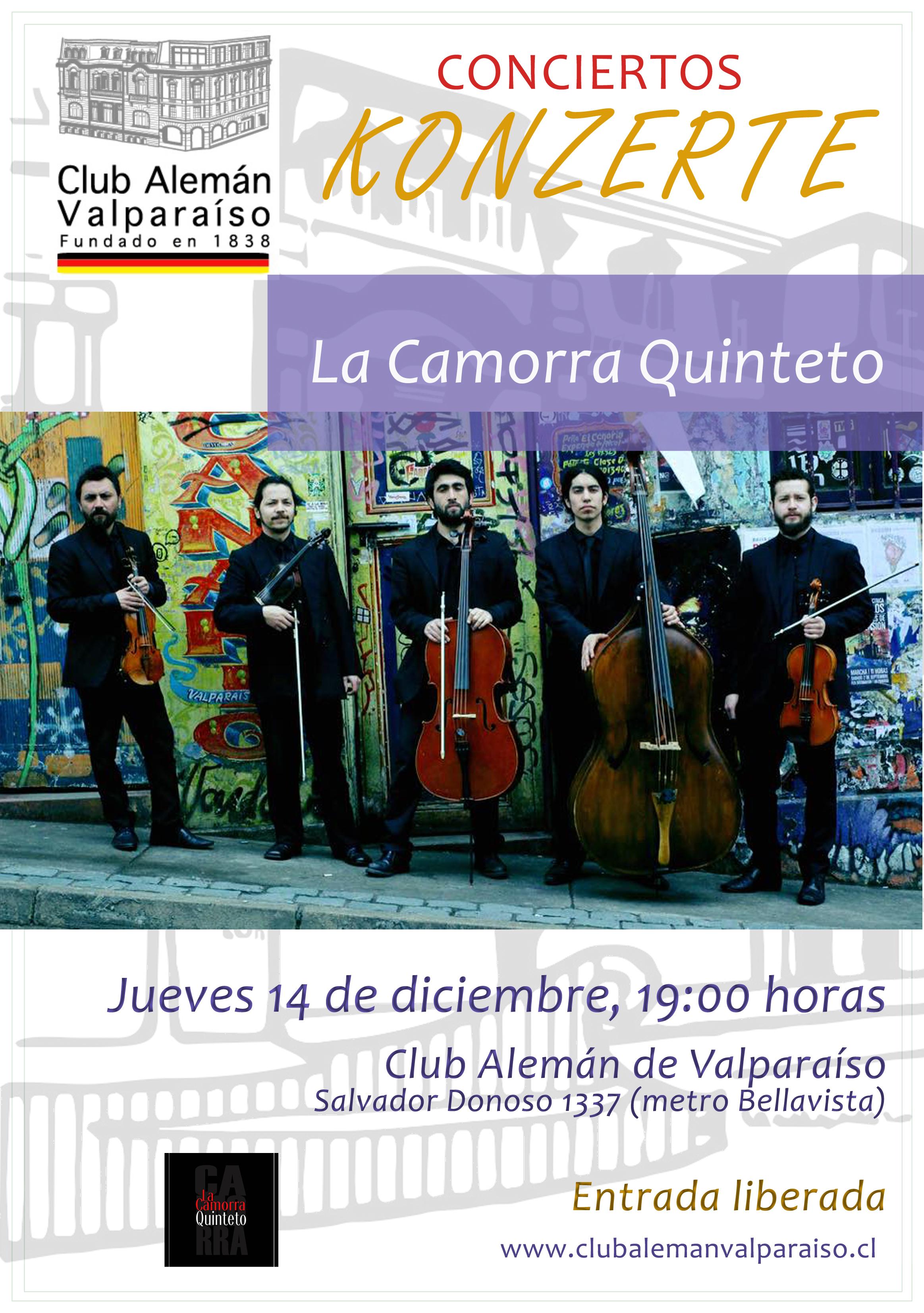 Concierto La Camorra Quinteto