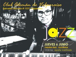 Jueves de Jazz - Artista Fabián Ruiz