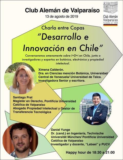 Charla sobre Innovación